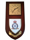 RAF Royal Air Force Fighter Command Regimental Wall Plaque Clock